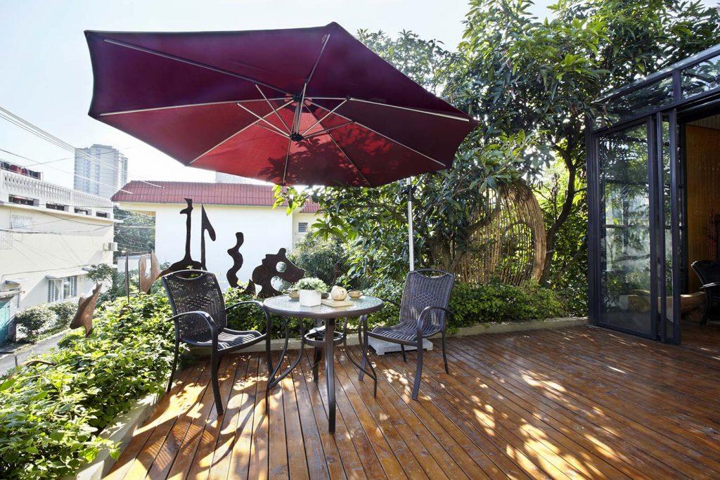 Giardino sul terrazzo e balcone a Verona ora sono una realtà