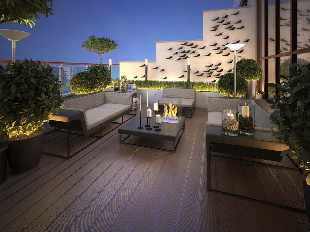 progetto giardino balcone
