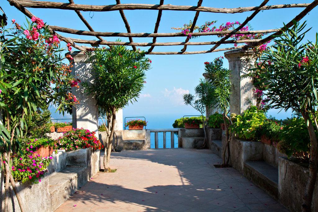 come progettare un giardino mediterraneo